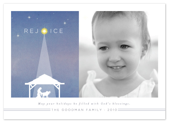 holiday photo cards - Nativity by Coco and Ellie Design