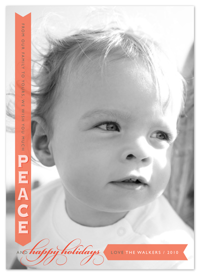 holiday photo cards - Peace to You by Alston Wise