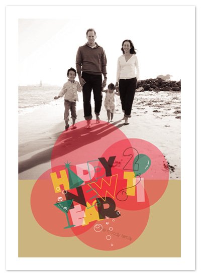 holiday photo cards - 2011 Balloons by Minted8615