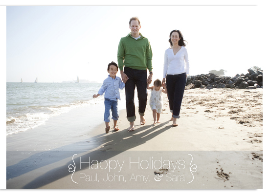 holiday photo cards - Simple Lines by Stephanie Driscoll