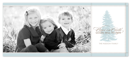 holiday photo cards - Peace On Earth by SunnyJuly