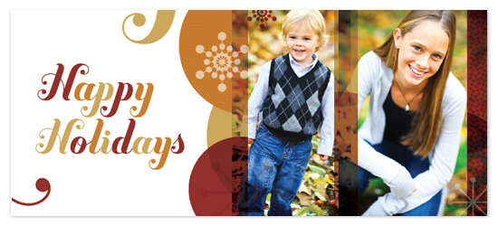 holiday photo cards - Happy Curlz by BiancaDesigns