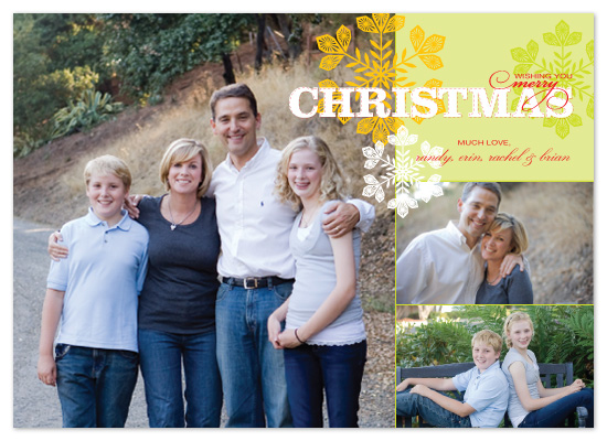 holiday photo cards - Merry Medley by Amanda Joy