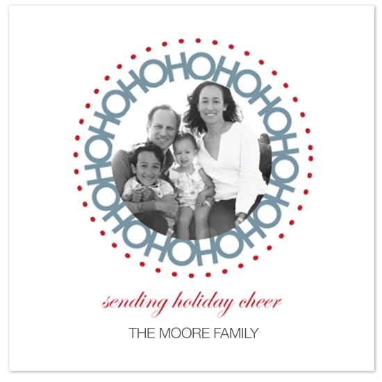 holiday photo cards - HOHOHO by Tanyia Johnson