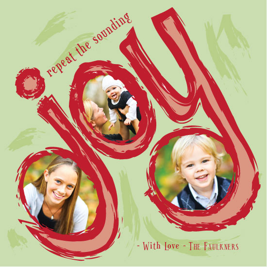 holiday photo cards - Sounding Joy by A Little Looney