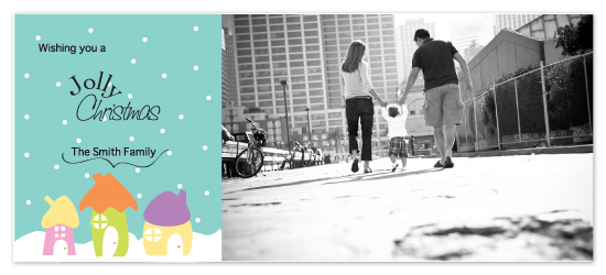 holiday photo cards - Jolly Christmas by Giselle Zimmerman
