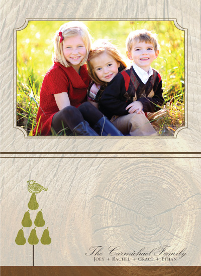 holiday photo cards - The Pear Tree by Rachel Carmichael