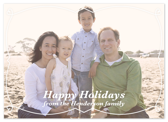 holiday photo cards - fasd by Stephanie Driscoll