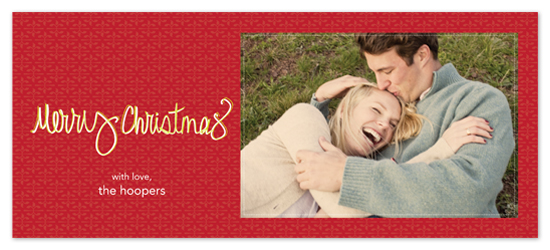 holiday photo cards - A Handwritten Note by C Paperie