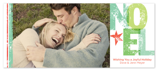 holiday photo cards - NOEL by Fine Day Press