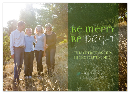 holiday photo cards - Cheery Merry and Bright by Candice Leigh