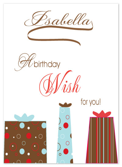 birthday cards - A Birthday Wish by Etched