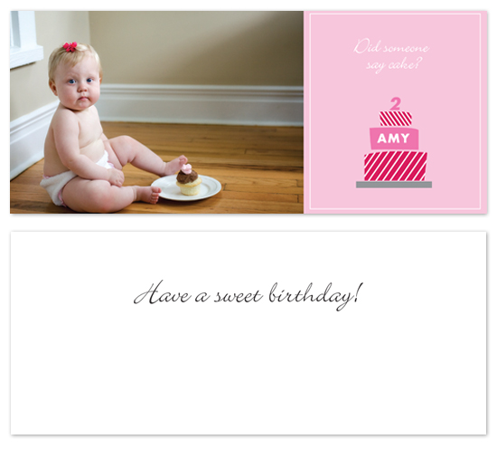birthday cards - Did Someone Say Cake? by Laurel Goodroe