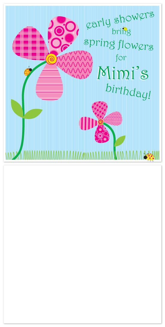 birthday cards - spring flowers by Laura Hancko