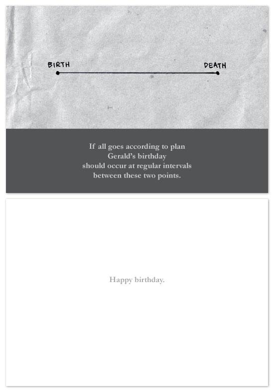 birthday cards - Timeline by John Scarratt