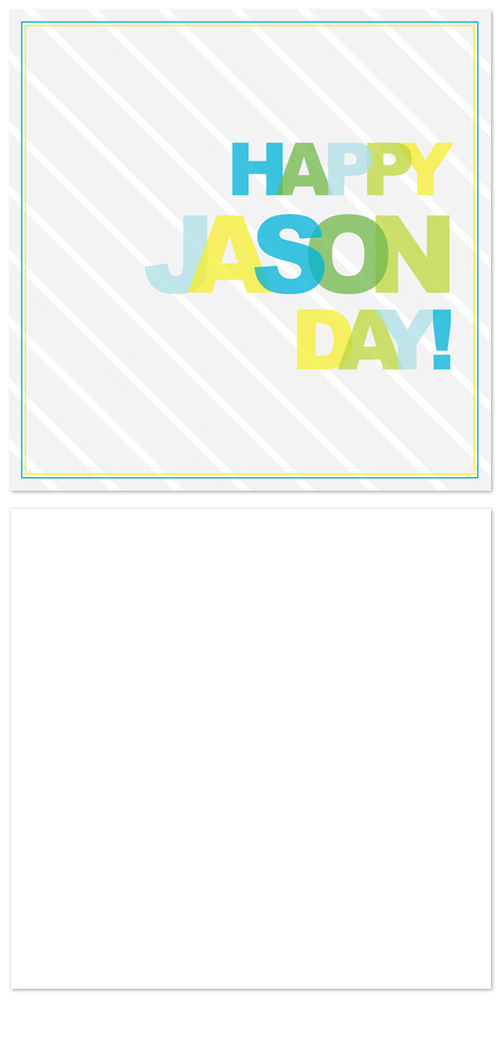 birthday cards - YOUR Day by Laurel Goodroe