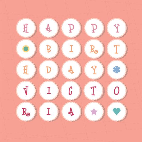 birthday cards - birhday cupcakes by P.S Designs