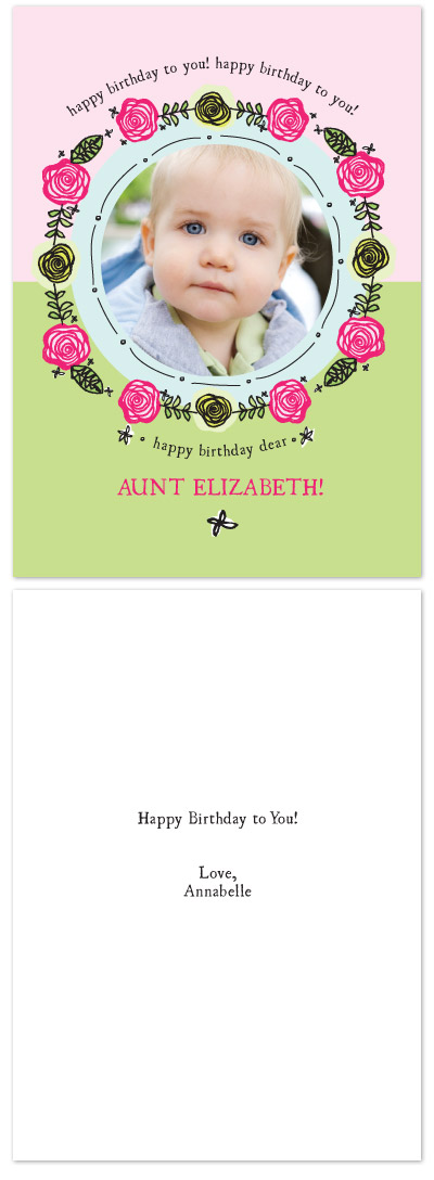 birthday cards - sing song birthday by Lauren Fasnacht