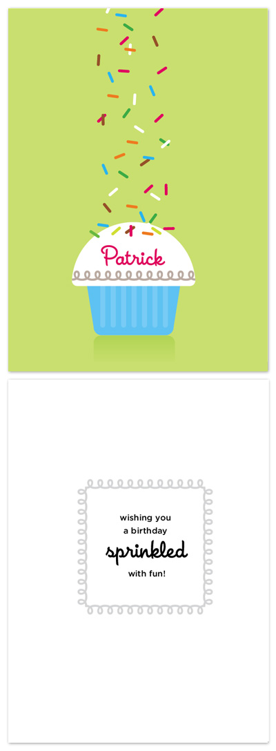 birthday cards - Sprinkles by Tracy White Taylor