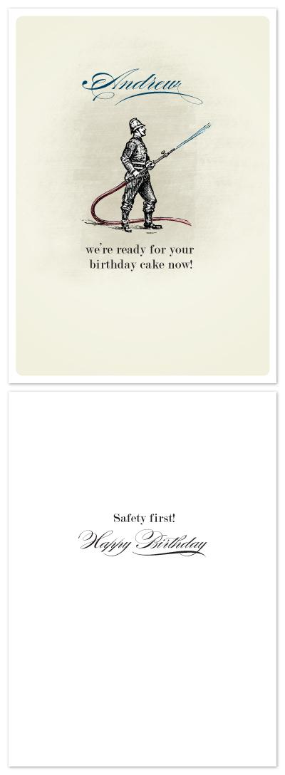 birthday cards - Ready for Your Birthday by Ann Gardner