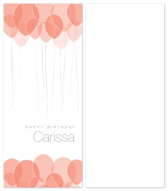 birthday cards - modern balloons by Tanyia Johnson