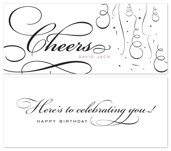 birthday cards - cheers by Tanyia Johnson