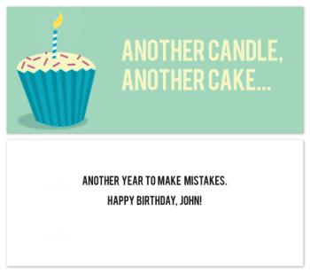 Another Year Birthday Humor