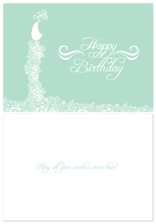 birthday cards - Art Nouveau Birthday Card by Junefille