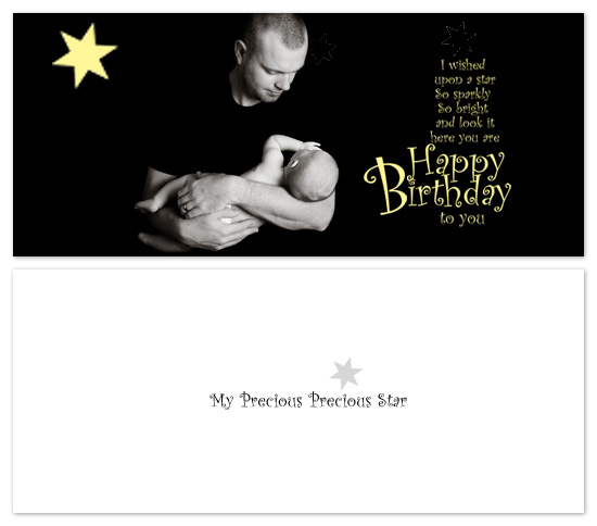 birthday cards - Precious Star by Gayletrini