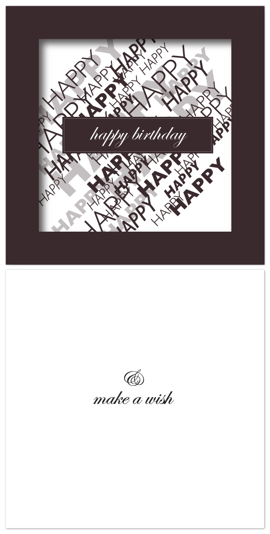 birthday cards - Unending Happiness by Nelson