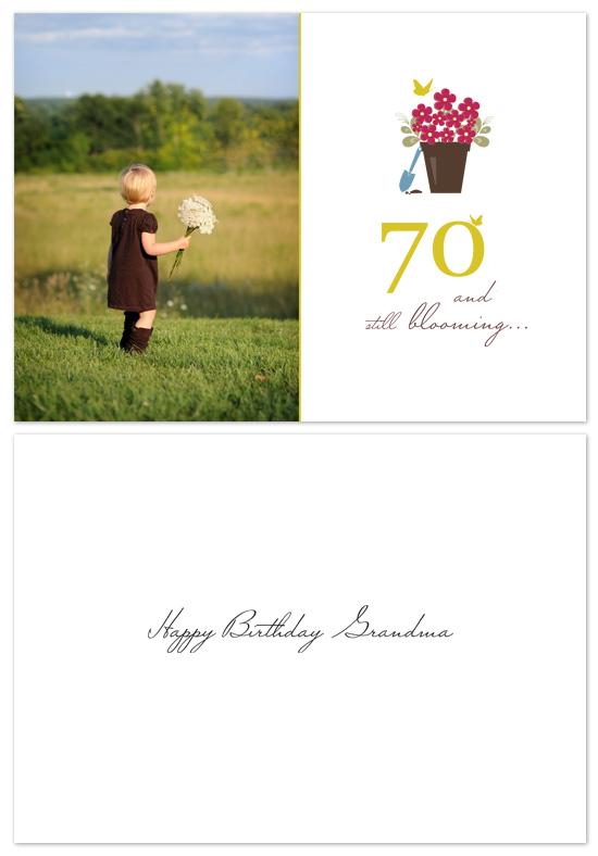 birthday cards - birthday bloom by lena barakat