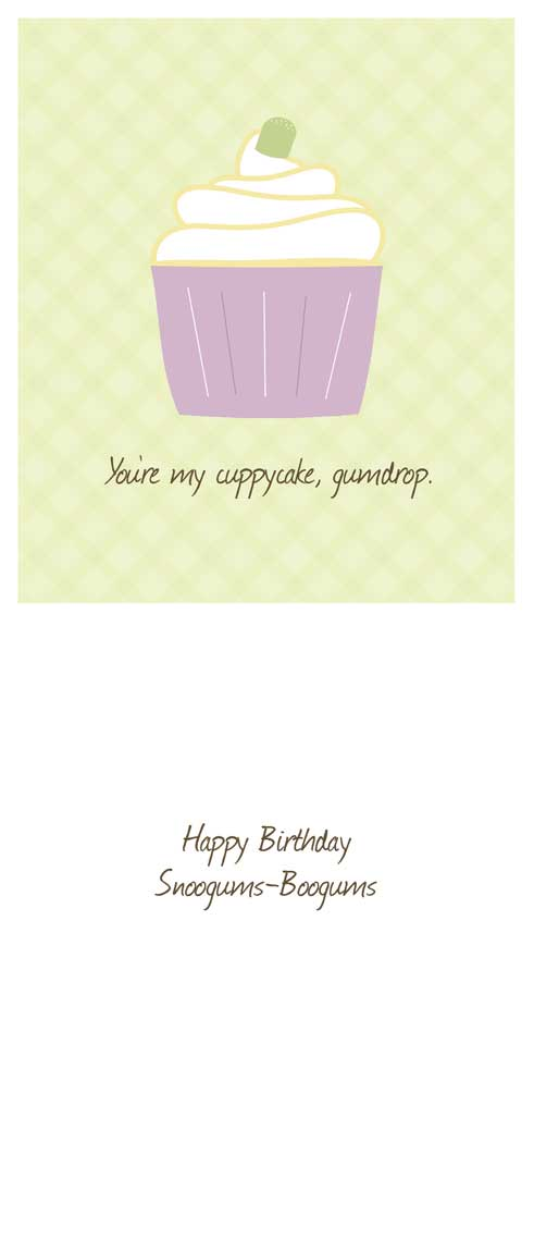 birthday cards - Happy Birthday Cuppycake by Lulu Creates