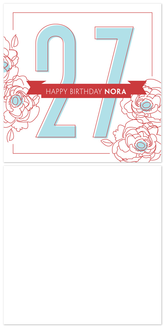 birthday cards - Big Birthday by Snow and Ivy