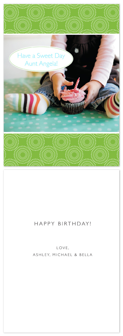 birthday cards - Sweet Day by Aimee