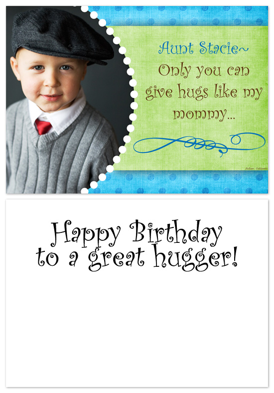 birthday cards - Special Hugs by The Picture Portal