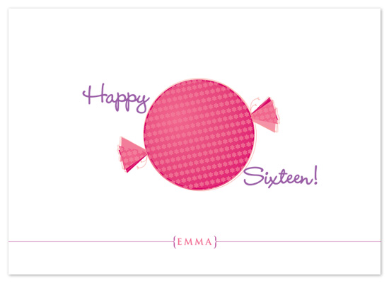 birthday cards - sweet 16 by P.S Designs