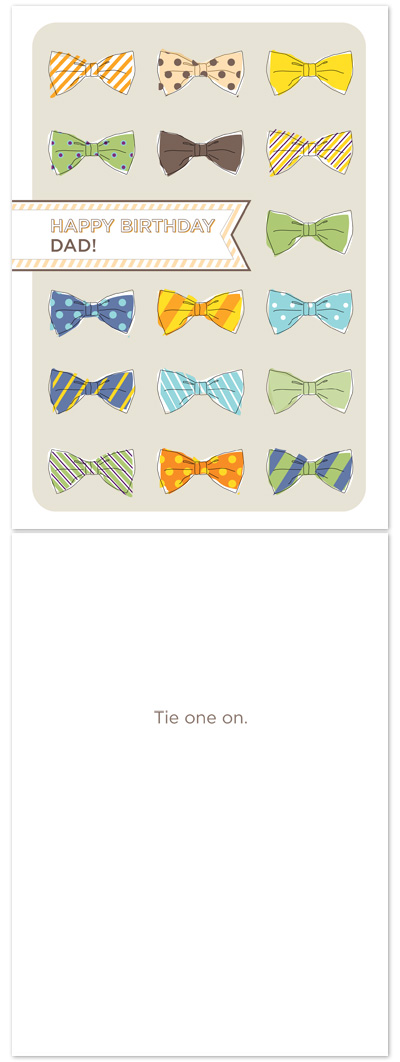 birthday cards - Tie One On by Fine Day Press