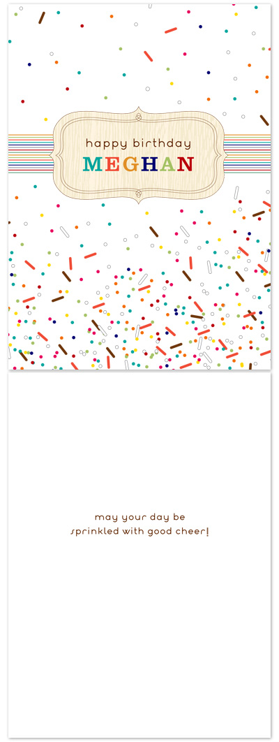 birthday cards - Sprinkled With Good Cheer by Fine Day Press