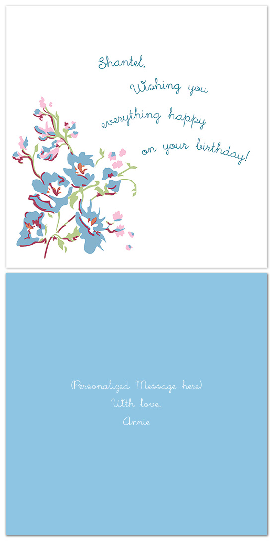 birthday cards - simply vintage by Anelieze Castrejon