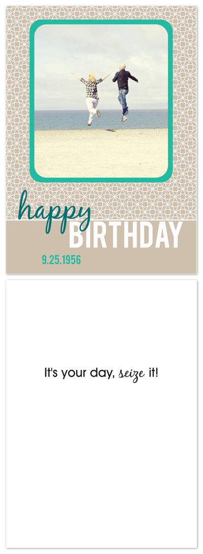 birthday cards - Mod Circle by PS
