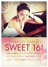 Sweet Sixteen by Rebecca Wendt