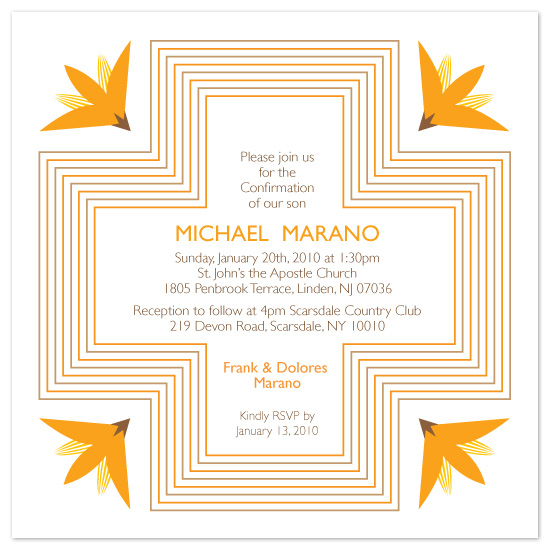 party invitations - It's Confirmed! by Katya Nagorneva