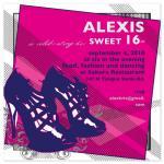 Fashionable Sweet 16 by Tenley Reyno