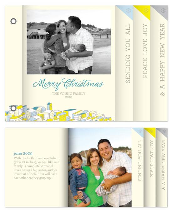 minibook cards - Joyful City by Andres Montaño