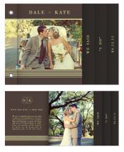 'I Do' Wedding Minibook by Julien Floyd