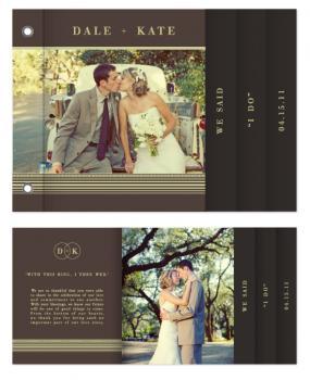 'I Do' Wedding Minibook