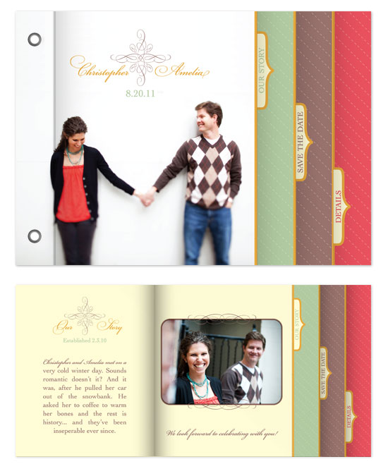 minibook cards - Cross and Stripes by Bethany Anderson