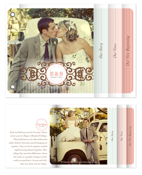 minibook cards - Sweet Vintage by Bethany Anderson