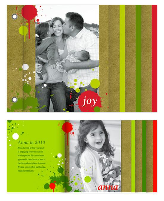 minibook cards - Splatters by Natalie Navales