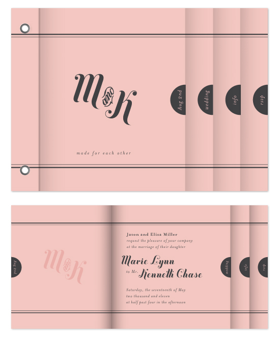minibook cards - Made for each other by Design Lotus